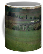 Railroad Bridge At Rosalia Texture Coffee Mug