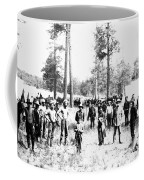 Railroad Camp, 1880s Coffee Mug