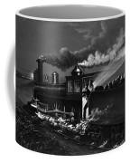 Railroad Danger Signal Coffee Mug