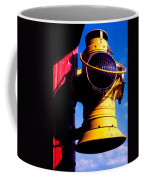 Railroad Oil Lantern Coffee Mug