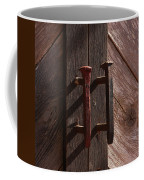 Railroad Spike Handles Coffee Mug