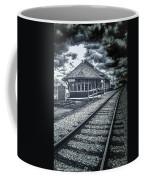 Railroad Ties Marlette Michigan Coffee Mug