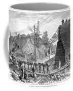 Railroad Washout, 1885 Coffee Mug