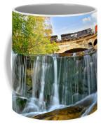 Railroad Waterfall Coffee Mug