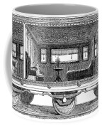 Railway Carriage, 1864 Coffee Mug
