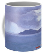 Rain Across The Channel Coffee Mug