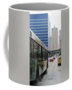 Rain And Bus Coffee Mug
