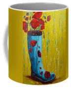 Rain Boot Series Unusual Flower Pots Coffee Mug by Patricia Awapara