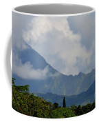 Rain Clouds Over The Makalehas Coffee Mug