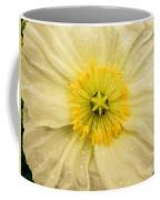 Rain Drenched Yellow Poppy Coffee Mug