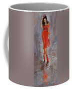 Rain In Manhattan Coffee Mug