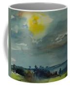 Rain In The Air, 1981 Wc On Paper Coffee Mug