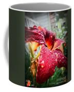 Rain Kissed Lilly Profile 2 Coffee Mug