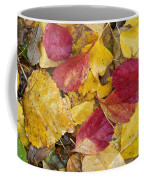 Rain Leaves Coffee Mug