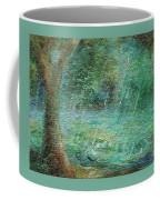 Rain On The Pond Coffee Mug