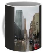 Rain On Water Street 2 Coffee Mug