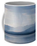 Rain Shower Over Marsh Lake Yukon Territory Canda Coffee Mug