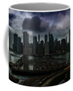 Rain Showers Likely Over Downtown Manhattan Coffee Mug