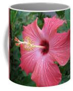Rain Soaked Hibiscus Coffee Mug