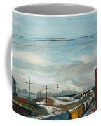 Rain Train Coffee Mug