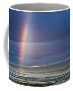 Rainbow Above The Bay Coffee Mug