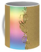 Rainbow And Gold Coffee Mug
