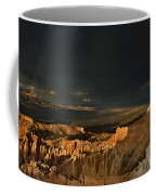 Rainbow And Thunderstorm Bryce Canyon National Park Ut Coffee Mug