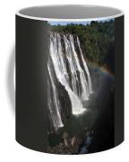 Rainbow At Victoria Falls Coffee Mug