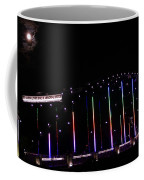 Rainbow Bridge And Super Moon Coffee Mug