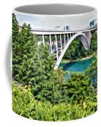Rainbow Bridge View Coffee Mug