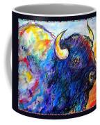 Rainbow Buffalo Coffee Mug