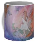 Rainbow Butterfly Fairy Coffee Mug