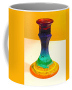Rainbow Candlestick Coffee Mug