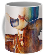 Rainbow Cowboy Coffee Mug by Jani Freimann