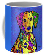 Rainbow Dalmatian Coffee Mug