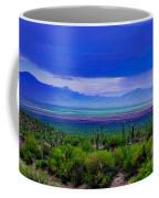 Rainbow Desert Landscape Coffee Mug