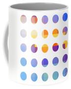 Rainbow Dots  Coffee Mug