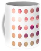 Rainbow Dots Rose Coffee Mug by Pixel Chimp
