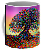 Rainbow Dreams And Falling Leaves Coffee Mug