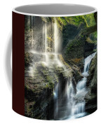 Rainbow Falls Square Coffee Mug