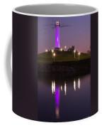 Rainbow Harbor Lighthouse Coffee Mug