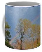 Rainbow In Spring Coffee Mug