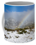 Rainbow In The Mountain Coffee Mug