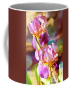Rainbow Irises Coffee Mug