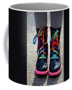 Rainbow Laces Coffee Mug