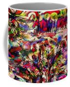 Rainbow Landscape Coffee Mug