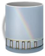 Rainbow On Top Of The Bridge Coffee Mug