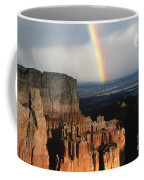 Rainbow Over  Bryce Canyon Coffee Mug