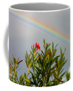Rainbow Over Flower Coffee Mug
