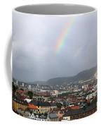 Rainbow Over Oslo Coffee Mug